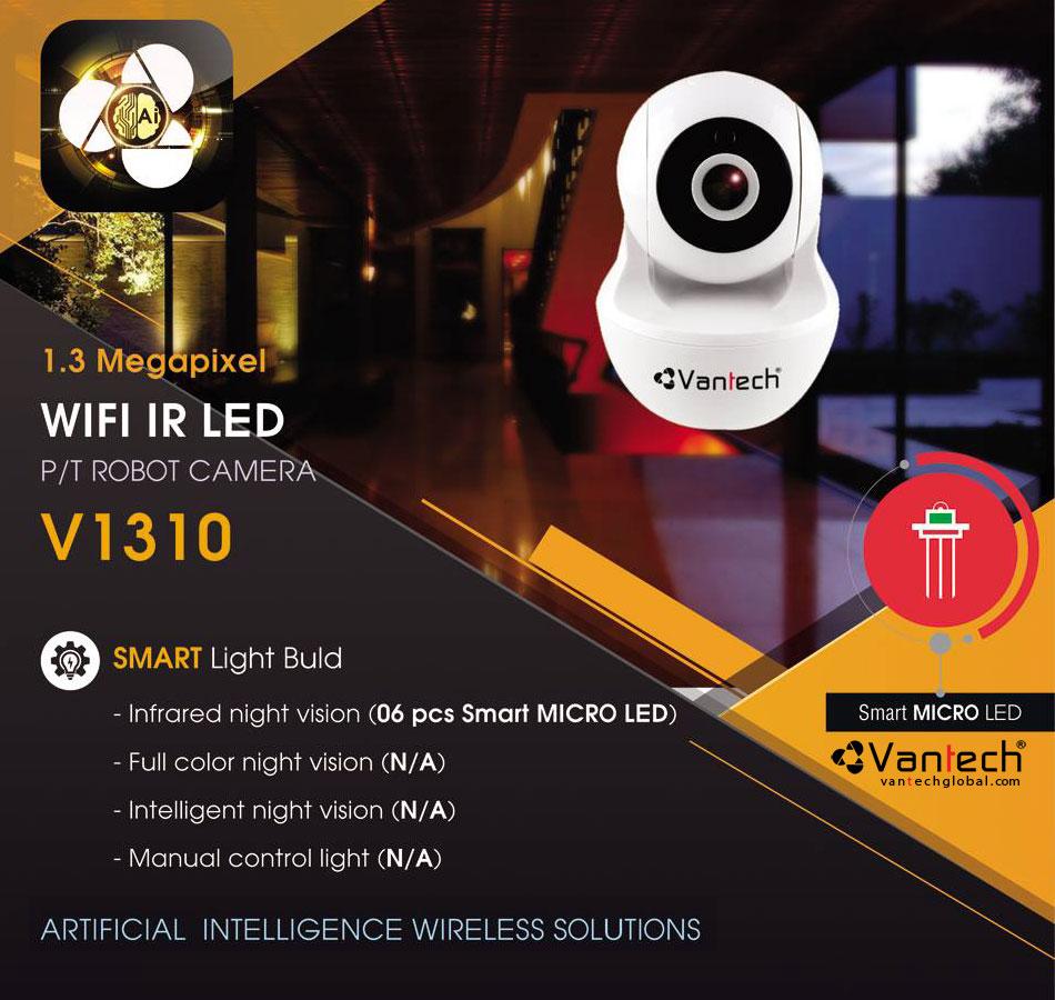 Tính năng nổi bật của Camera Wifi Robot Vantech 1.3Mp V1310