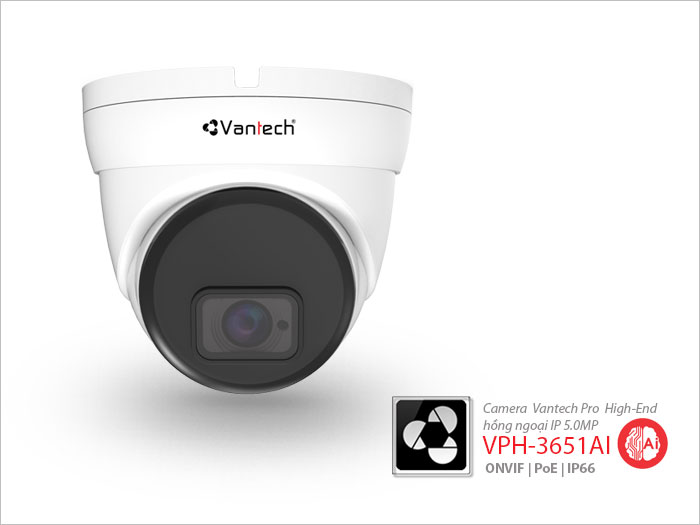 Camera hồng ngoại AI IP Vantech VPH-3651AI